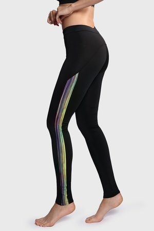BasBlack Ženy Legíny - Sportovní legíny Cosmic