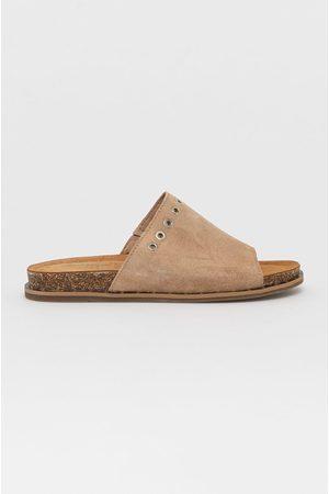 Wojas Kožené pantofle