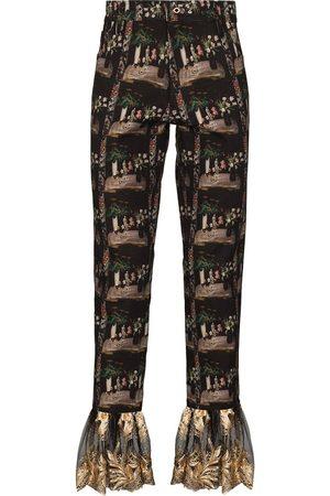 TSAU Muži Rovné nohavice - X Browns Focus Future Icons Aphrodite trousers