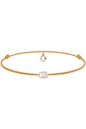 COURBET 18kt rose gold diamond Let's Commit bracelet