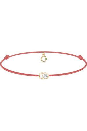 COURBET Ženy Náramky - 18kt yellow gold diamond Let's Commit bracelet