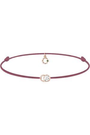 COURBET Ženy Náramky - 18kt rose gold diamond Let's Commit bracelet