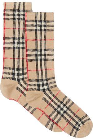 Burberry Ponožky - Vintage Check-pattern socks