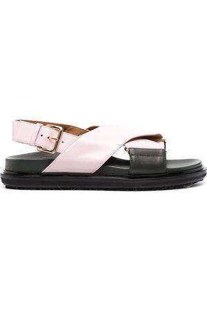Marni Ženy Sandály - Crossover strap sandals