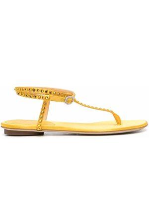 GIANNICO Ženy Sandály - Studded open-toe sandals