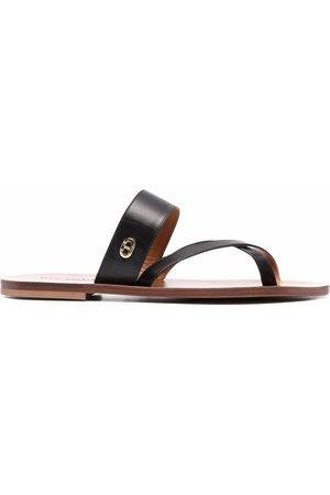 DEE OCLEPPO Ženy Sandály - Crossover strap sandals