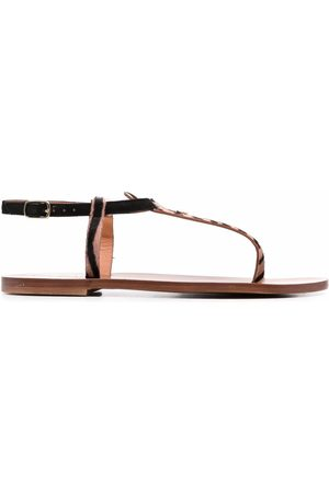 DEE OCLEPPO Animal-print sandals