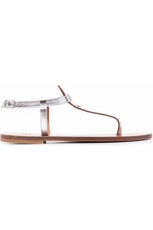 DEE OCLEPPO Ženy Sandály - Plaque detail sandals