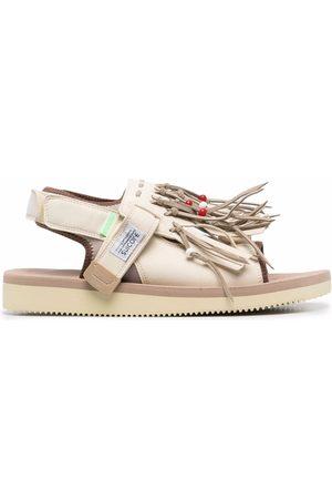 SUICOKE Open-toe fringed sandals