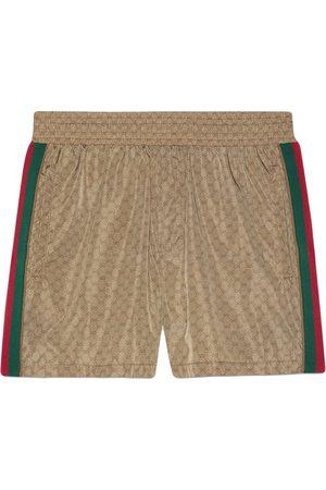 Gucci Muži Kraťasy - GG Supreme-print shorts