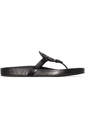 Tory Burch Miller monogram flat sandals