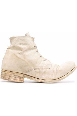 POÈME BOHÉMIEN Chunky lace up boots