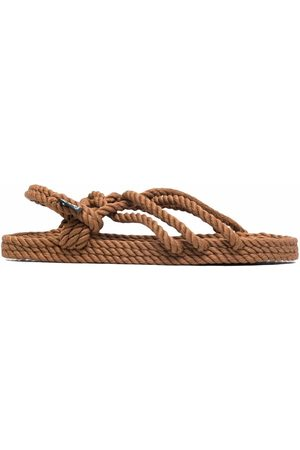 Nomadic state of mind Woven open-toe sandals