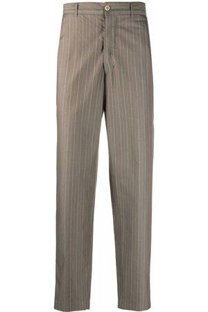 Comme des Garçons 1990s pinstripe straight-leg trousers