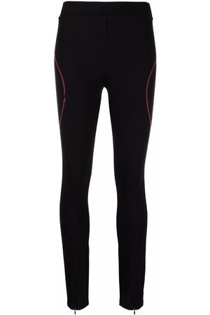 Karl Lagerfeld Ženy Legíny - Contrast stitching leggings