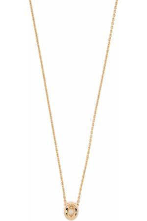 Le Gramme 18kt yellow gold 1g Entrelacs pendant necklace