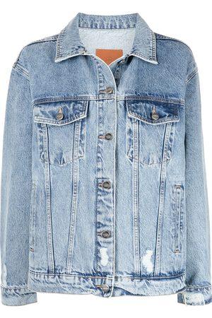 ANINE BING Ženy Džínové bundy - Rory denim jacket