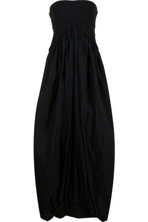 CHRISTOPHER ESBER Strapless maxi dress