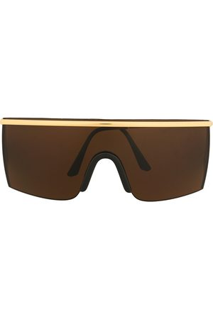 VERSACE Pre-owned shield-frame sunglasses