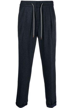 Brunello Cucinelli Virgin wool drawstring trousers