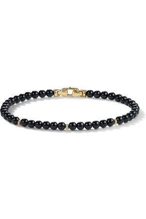David Yurman 4mm spiritual bead bracelet