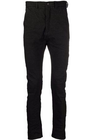 POÈME BOHÉMIEN Mid-rise skinny-fit trousers