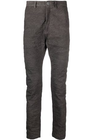 POÈME BOHÉMIEN High-waisted skinny-fit trousers