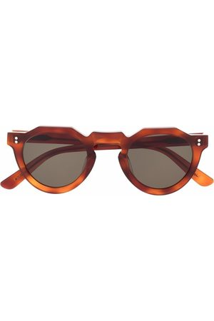 LESCA Sluneční brýle - Pica round-frame sunglasses