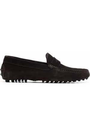 Scarosso Michael penny slot loafers