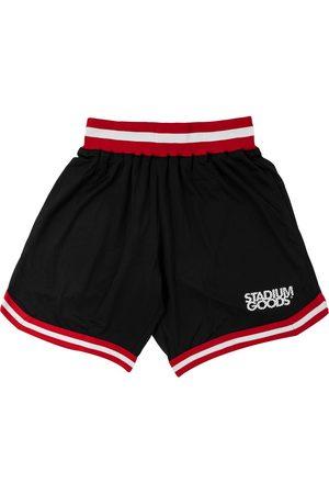 """Stadium Goods Chicago """"Bred"""" mesh shorts"""
