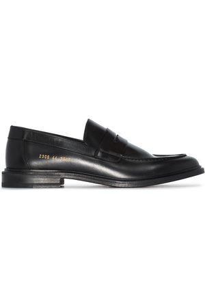 COMMON PROJECTS Muži Nazouváky - Penny-slot leather loafers