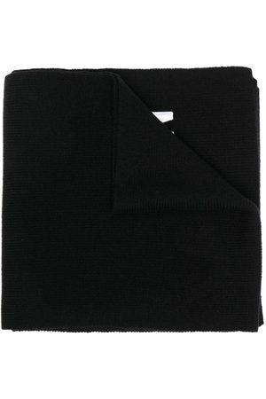 Dsquared2 Muži Šály a šátky - Embroidered-logo ribbed-knit scarf