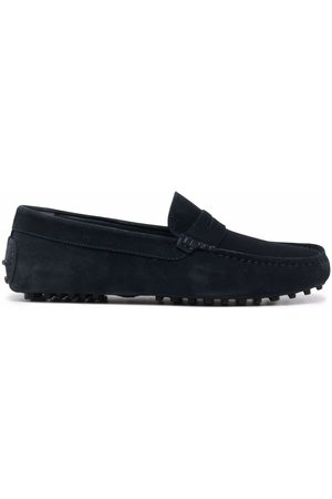 Scarosso Michael suede loafers