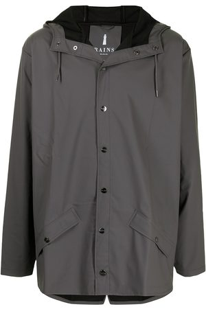 Rains Muži Pláštěnky - Lightweight hooded rain jacket