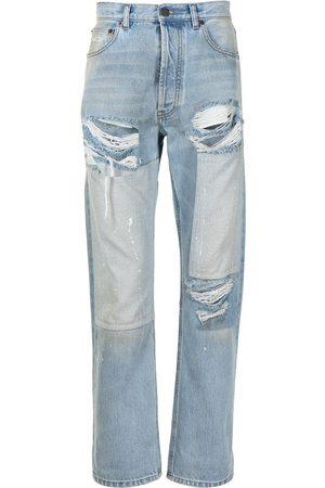 COOL T.M Distressed straight-leg jeans