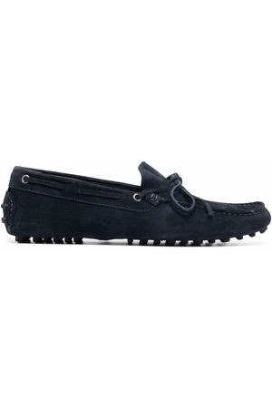 Scarosso James tie fastening loafers
