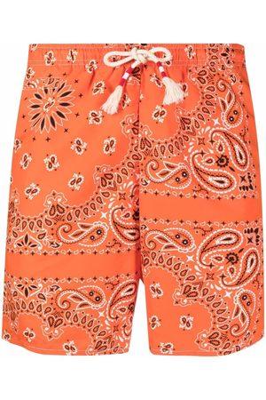 MC2 SAINT BARTH Bandana-print swim shorts