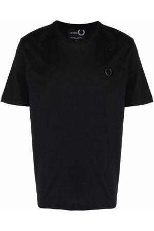 Fred Perry Muži S krátkým rukávem - Chest logo cotton T-shirt