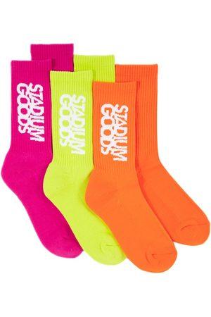 Stadium Goods Muži Ponožky - Three-pack Highlighter socks