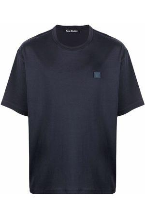 Acne Studios Face patch organic cotton T-shirt