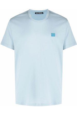 Acne Studios Nash face-motif T-shirt