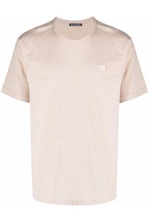 Acne Studios S krátkým rukávem - Nash face-patch T-shirt