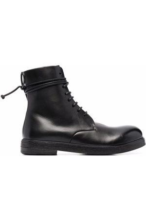 MARSÈLL Zucca Zeppa lace-up boots