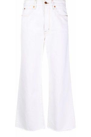SLVRLAKE High-rise wide leg jeans
