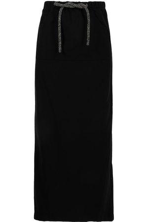 CHRISTOPHER ESBER Crystal-embellished maxi skirt