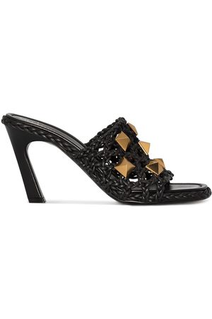 VALENTINO GARAVANI Roman Stud 90mm woven sandals