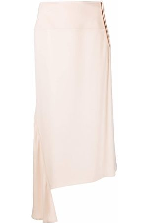 Jil Sander High-waisted asymmetric skirt
