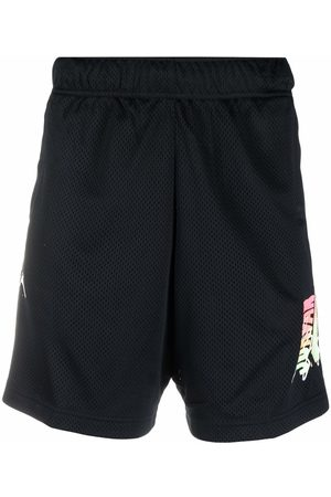 Jordan Muži Bermudy - Logo-print mesh shorts