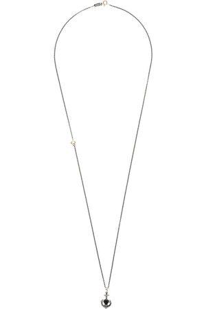 UGO CACCIATORI Heart and anchor necklace