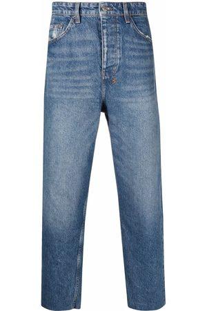 KSUBI Straight-leg denim jeans